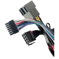 Amplis 4 Canaux IY - Fiches autoradio ISO - Cable adaptation pour IMPULSE4.320