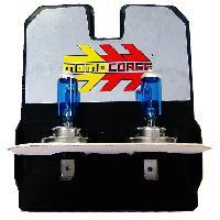 Ampoule - Eclairage Tableau De Bord 2 Ampoules H7 - Ice White - 12V 55W 4000K - Rendu 110W - Homologue - MomoCorse