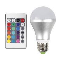 Ampoule - Led - Halogene Ampoule LED decorative E27 3.6 W 16 couleurs