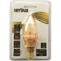 Ampoule - Led - Halogene Ampoules LED E14 flamme Deco Nouvelle Generation - 2 W equivalence 10 W - Blanc chaud