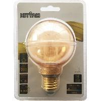 Ampoule - Led - Halogene Ampoules LED E27 G80 Deco Nouvelle Generation - 4 W equivalence 20 W - Blanc chaud