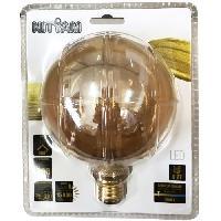 Ampoule - Led - Halogene Globe E27 G125 Deco Nouvelle Generation - 4 W equivalence 20 W - Blanc chaud