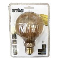 Ampoule - Led - Halogene Globe E27 G95 Deco Nouvelle Generation - 4 W equivalence 20 W - Blanc chaud
