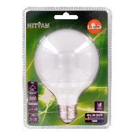 Ampoule - Led - Halogene NITYAM Ampoule globe Led E27 10W équivalent a 60W