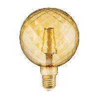 Ampoule - Led - Halogene OSRAM Ampoule LED E27 ananas Vintage Edition 1906 - 4.5 W - Ambré