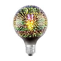 Ampoule - Led - Halogene OSRAM Globe Universe déco LED E27 - 125 mm - 3 W