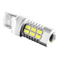 Ampoules 12V 1 Ampoule LED 50W - 12 24V T20 360degres Double filaments Blanc EvoFormance