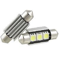Ampoules 12V 1 ampoule navette 39mm - 3 SMD - C5W - C10W - CANBUS Generique