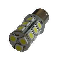 Ampoules 12V 2 Ampoules LED P21W 12V - BA15S - 18xSMD5050 - Blanc - Autoled Technologie Generique