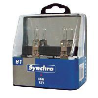Ampoules 12V 2 ampoules H1 12V 55W Generique