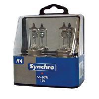 Ampoules 12V 2 ampoules H4 12V 55-60W -blister- Generique