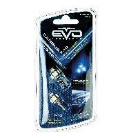 Ampoules 12V Led T10 Canbus 5 Leds Blanc EvoFormance