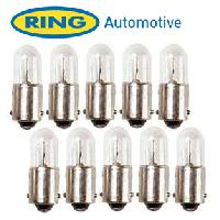 Ampoules 24V 10 Ampoules BA9S 24V - 4W - Repetiteurs et Arriere Ring