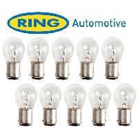 Ampoules 24V 10 Ampoules BAy15D 24V - 215W - Ring