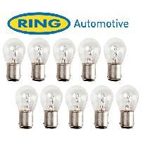 Ampoules 24V 10 Ampoules BAy15D 24V - 215W Ring