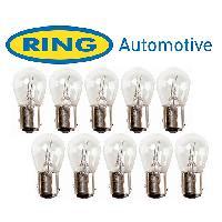 Ampoules 24V 10 Ampoules BAy15D 24V - 521W - Eclairage Rouge - Feux de stop et de position Ring