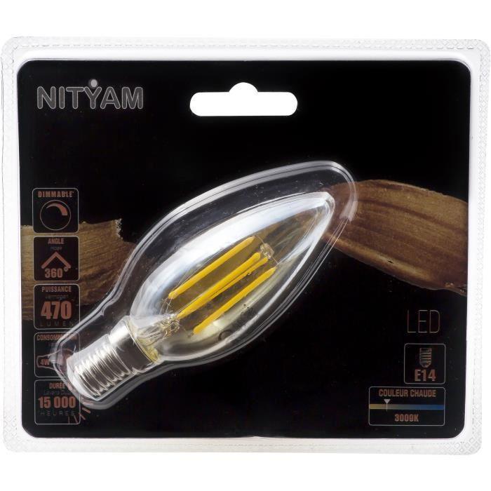 Ampoules-LED-E14-flamme-filament-ambre-4-W-equivalence-40-W-Blanc-chaud-Gene