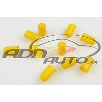 Ampoules et Leds 10 Caches Ampoules T5 - Jaune - 5mm - ADNAuto