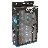 Ampoules et Leds Coffret ampoules de remplacement H1+16 ampoules +12 fusibles