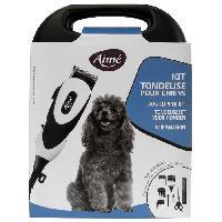 Animalerie AIME Coffret Tondeuse électrique - 12 W - Pour chien