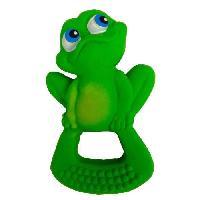 Anneau De Dentition Anneau de dentition grenouille - Des la naissance - Vert - Mixte - Caoutchouc naturel - 7 x 3.5 x 9.5 cm