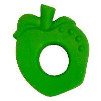 Anneau De Dentition Anneau de dentition pomme - Des la naissance - Vert - Mixte - Caoutchouc naturel - 7 x 1 x 9 cm