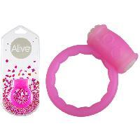 Anneau vibrant rose Power Ring Symbol