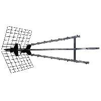 Antenne - Parabole METRONIC 415049 Antenne d'exterieur trinappe amplifiee 57 dB