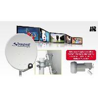 Antenne - Parabole STRONG SRTD60SPL702 Parabole en acier 60 cm - Blanc