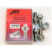 AntiVol de Roues 4 vis 12x125 - L2 25mm - Antivol de Roues ZBN125 - AEZ
