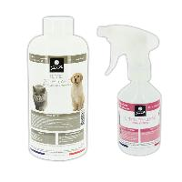 Antiparasitaire - Pipette - Lotion - Collier - Pince - Spray -shampoing - Crochet Tique Pack anti tiques et puces pour chats chiens et furets MID