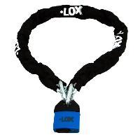 Antivol - Bloque Roue ANTIVOL CHAINE LOX + CADENAS LOX - Loon