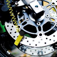 Antivol - Bloque Roue Bloque disque de frein - Motorx