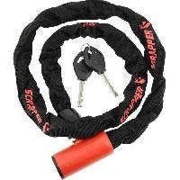 Antivol SCRAPPER Antivol Chaine - Noir et rose
