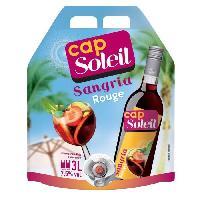 Aperitif Cap Soleil Sangria Rouge - 7.5%vol - Bag 3 L