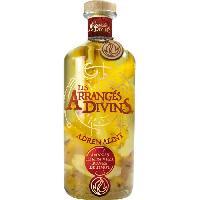 Aperitif Punch au Rhum Les Arranges Divins - Adrenaline - Ananas. Citron Vert. Poivre - 28.7o - 70 cl