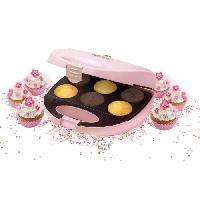 Appareil A Muffins BESTRON DCM8162 Machine a cupcakes - Rose Pastel