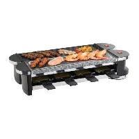 Appareil A Raclette DOMOCLIP DOC160 Appareil a raclette 8 personnes - Noir