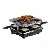Appareil A Raclette DOMOCLIP DOC162 Appareil a raclette 4 personnes - Noir