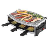 Appareil A Raclette DOMOCLIP DOM223 Appareil a raclette 6 personnes - Noir