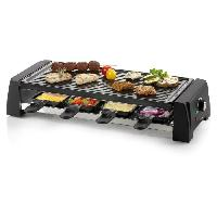 Appareil A Raclette DOMO DO9189G Appareil a raclette 8 personnes - Noir