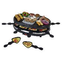 Appareil A Raclette KALORIK TKG RAC 1003 Appareil a raclette 8 personnes ? Noir