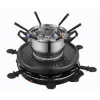 Appareil A Raclette KALORIK TKG RAC1010FO Appareil a raclette et fondue 6 personnes - Noir - Simeo
