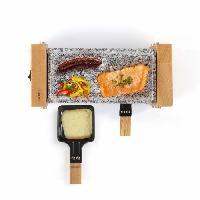 Appareil A Raclette LIVOO DOC218 Appareil a raclette gril 2 personnes - Beige