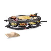 Appareil A Raclette PRINCESS 162700 Appareil a raclette 8 personnes - Noir