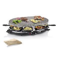 Appareil A Raclette PRINCESS 162720 Appareil a raclette 8 personnes - Noir