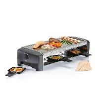 Appareil A Raclette PRINCESS 162830 Appareil a raclette 8 personnes - Noir