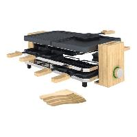 Appareil A Raclette Pure Appareil a raclette - 1200W - 8 personnes - Bambou