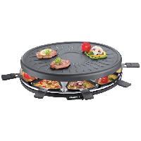 Appareil A Raclette SEVERIN RG2681 Appareil a raclette 8 personnes - Noir