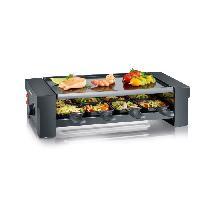 Appareil A Raclette SEVERIN RG2687 Appareil a raclette 8 personnes - Noir
